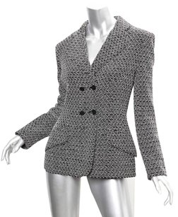 Chanel Womens 98p Classic Wool Jacket 368 Coat