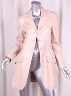 Chanel 97p Womens Nude Coat