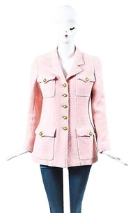 Chanel Boutique Wool Pink Jacket