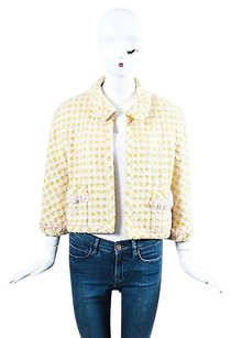Chanel Boutique Pink Yellow Jacket