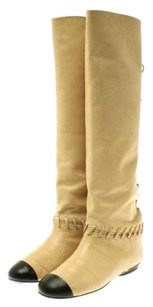 Chanel Beige Boots