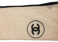 Chanel Cashmere CC Classic Logo Scarf Stole