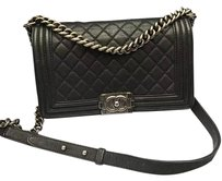 Chanel Caviar Medium Boy Shoulder Bag
