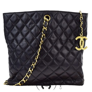 Chanel Chain One Leather Shoulder Bag
