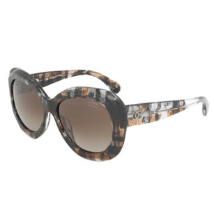 Chanel Chanel 5323-A-1521-S9-56-Pol Butterfly Sunglasses | Multicolored Brown