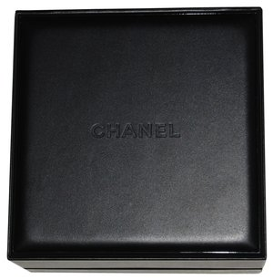 Chanel CHANEL Black Leather J12 Chrono Watch Presentation Box Case with Outer Box