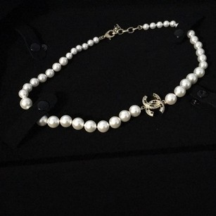 Chanel Chanel CC Pearl Necklace