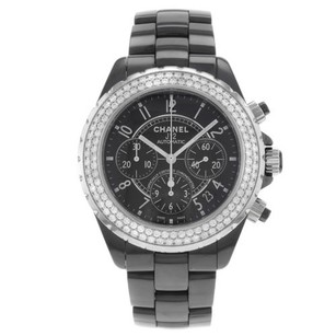Chanel Chanel J12 H1009 Original Diamonds Ceramic Womens Watch