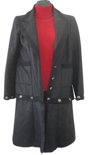 Chanel CHANEL MILITARY 08 CRUISE WEAR SUIT COCO LINE AIRPLANE BUTTONS SIZE 38