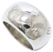 Chanel Chanel Mixed Silver Ring