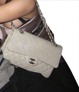 Chanel Double Flap Lambskin 2.55 Handbag Shoulder Bag