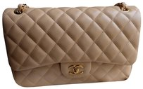 190c3dcfd16f48 Chanel Vintage Jumbo Lambskin Leather Shoulder Bag