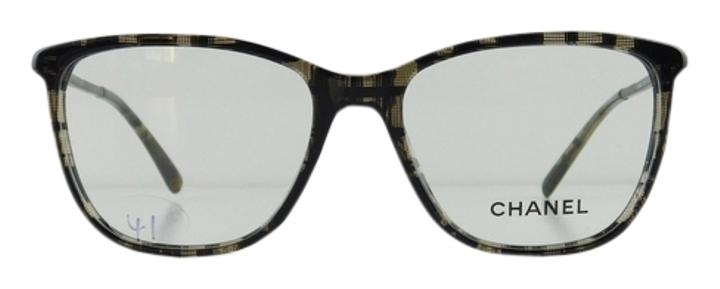 Chanel Eyeglass Frames With Rhinestones : Chanel Gently Used Eyeglasses 3294-B c. 1488 Black Acetate ...