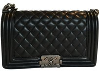 Chanel Le Boy Ruthenium Old Medium Shoulder Bag