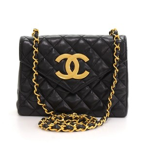 Chanel Leather Flap Shoulder Bag