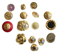 Chanel Lot of 16 mixed Shank Buttons