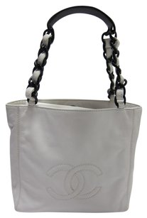Chanel Luxury Tote in white