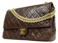 Chanel Mademoiselle Cc Satchel in BROWN