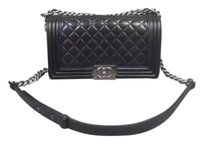 Chanel Medium Boy Leather Shoulder Bag