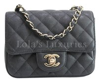 Chanel Mini Classic Flap Boy Woc Wallet On Chain Cross Body Bag