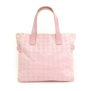 Chanel Nylon Tote in Pink