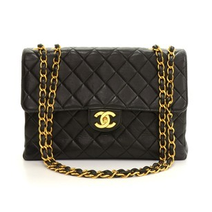 Chanel Quilted Leather Shoulder Bag