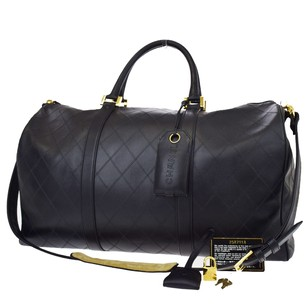 Chanel Quilted Travel Bag