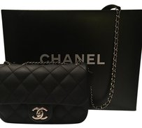 Chanel Rubber Classic Raincoat Flap Cross Body Bag