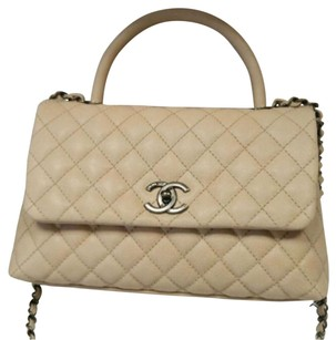 Chanel Satchel in Light Beige