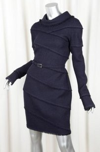 Chanel 08a Womens Navy Dress