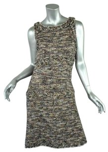 Chanel Multicolormetallic Dress