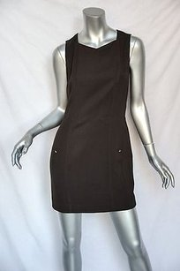 Chanel short dress Browns Vintage Brown on Tradesy