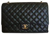 Chanel Maxi Caviar Flap Shoulder Bag