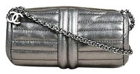 Chanel Pewter Metallic Shoulder Bag