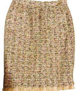 Chanel Skirt beige