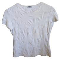 Chanel Monogram T Shirt white