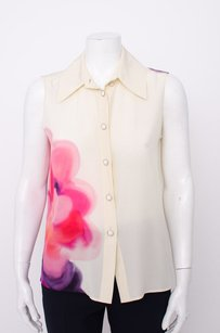 Chanel Sleeveless Top Ivory