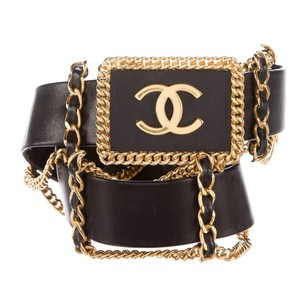 Chanel Vintage 'CC' Chain Logo Belt