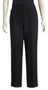 Chanel Wide Leg Pants Black