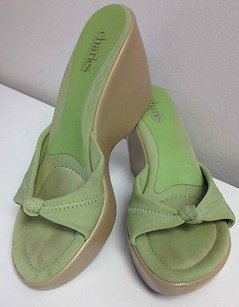 Charles David By Green Sandals