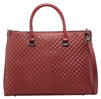 Charles Jourdan Tote in wine red