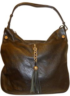 Charles Jourdan X-lg Refurbished Leather Hobo Bag