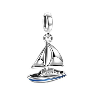 Other Sailing Boat Pendant Charm 925 Sterling silver