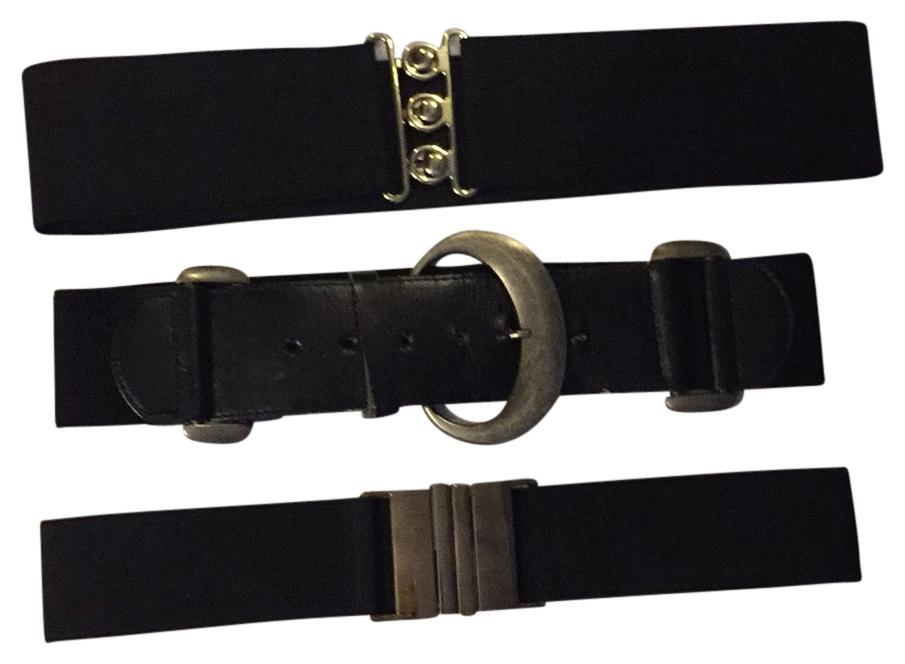 charming black buy 1 get 2 free belts tradesy