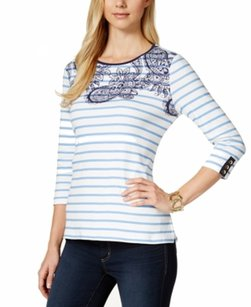 Charter Club 100-cotton 14776er814 Top