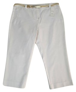 Charter Club Womens Bright Capri/Cropped Pants White