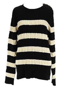 Charter Club Striped Womens Sweater