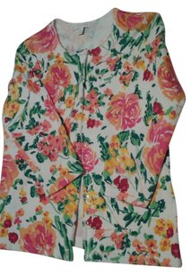 Charter Club Flowers Cardigan