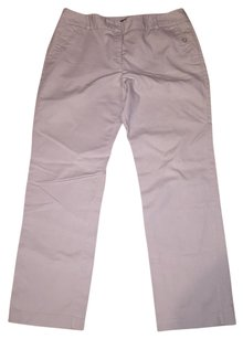 Charter Club Straight Pants Tan
