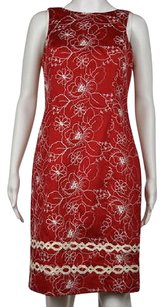 Chetta B. by Sherrie Bloom and Peter Noviello B Womens Floral Sleeveless Knee Length Dress